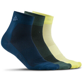 Craft Greatness Mid Socks 3-Pack nox/shore